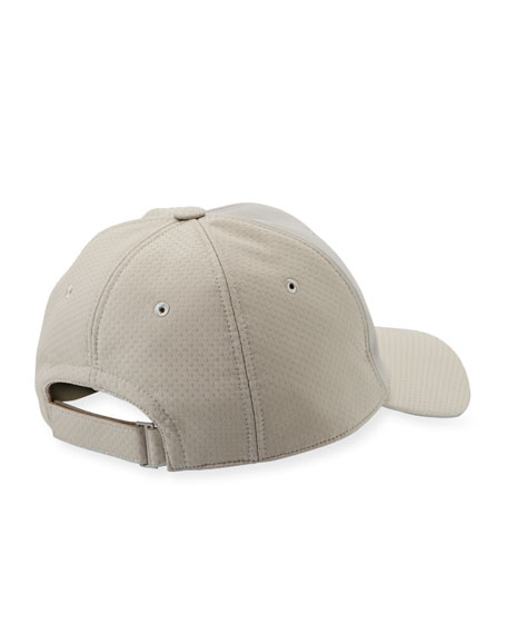 Men's Two-Tone Baseball Cap, Gray