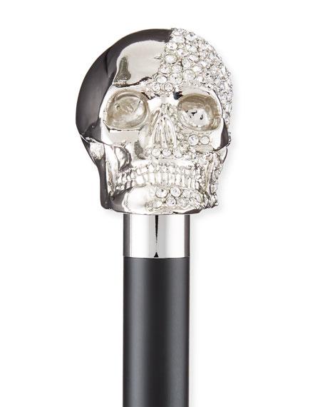 Rock & Roll Skull Shoe Horn, Black