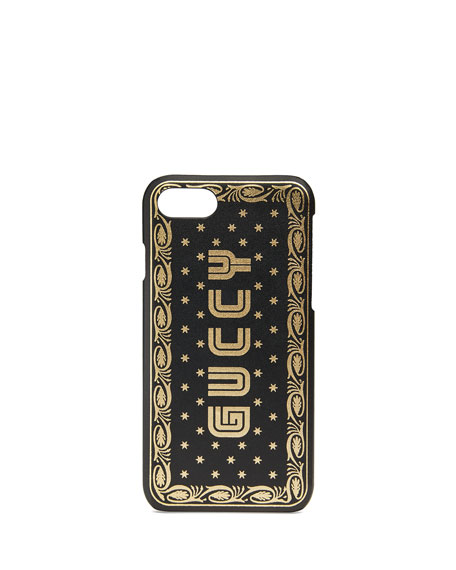 Gucci Guccy Leather iPhone?? 7 Case