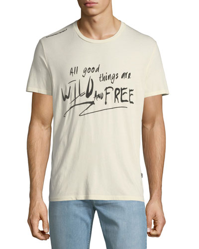 Wild and Free Scribble T-Shirt