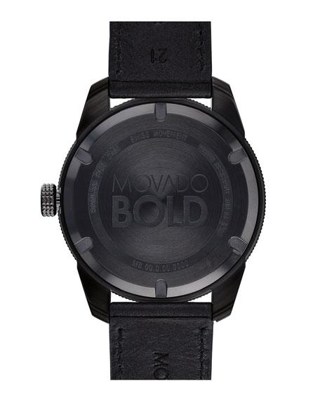 Men's 43mm Bold Sport 3-Hand Day/Date Watch