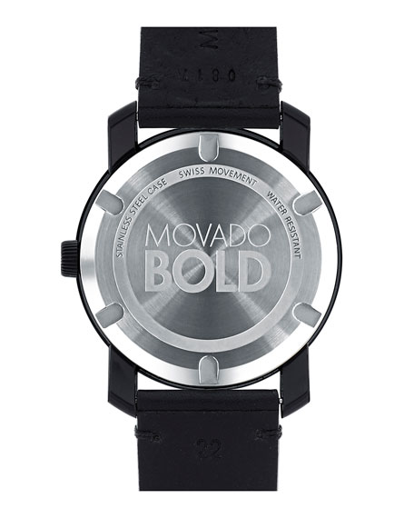Men's 43mm Bold Two-Hand Watch