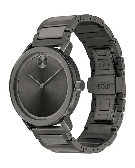 Men's 40mm Bold Evolution Watch, Gray