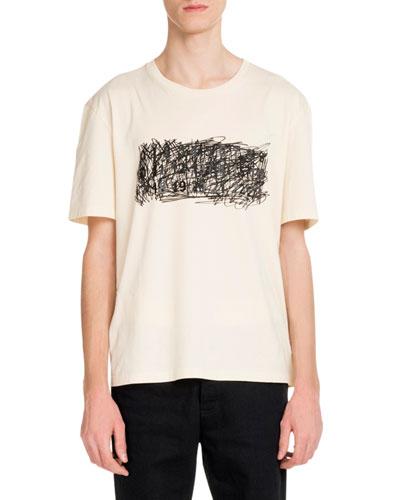 Men's Scribble Graphic T-Shirt