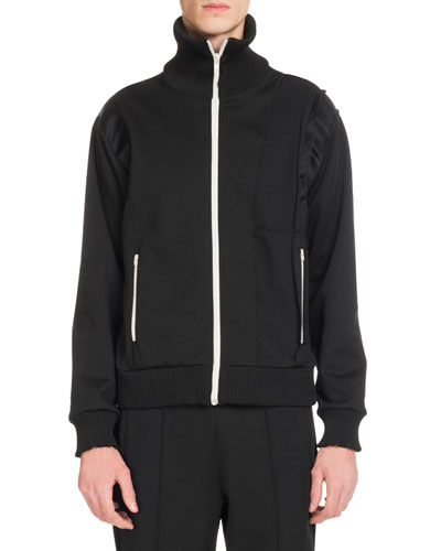 Men's Zip-Front Sweat Jacket