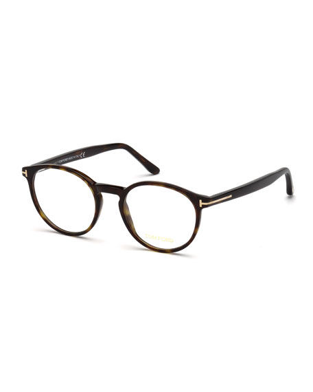 Men's Round Acetate Optical Glasses