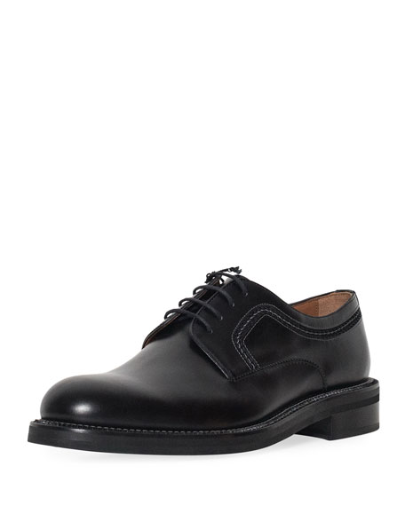 Men's Abrasivato Leather Derby Shoe