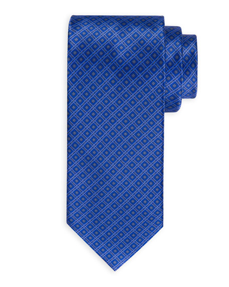 Medium Square Silk Tie
