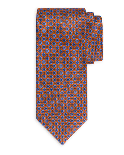 Medium-Circle Silk Tie