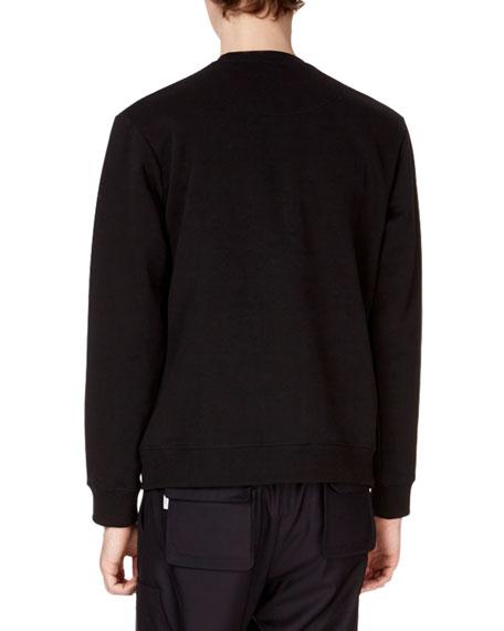 Men's Embroidered Dragon Tiger Sweatshirt