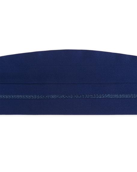 Stefano Ricci Crystal-Embellished Silk Cummerbund
