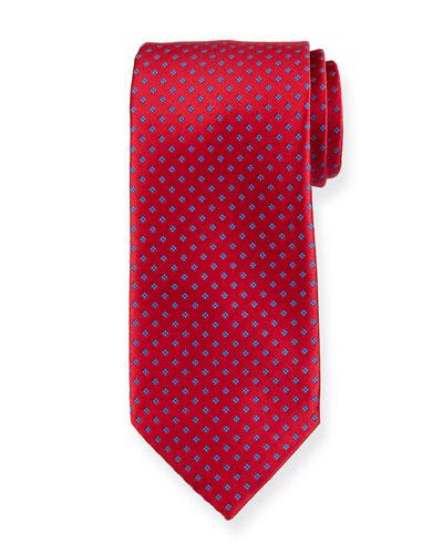 Mini Dice Silk Tie