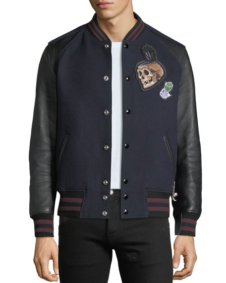 Disney Dark Fairy Tale Men's Snow White Varsity Jacket