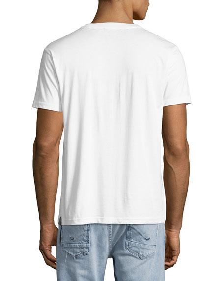 Disney Dark Fairy Tale Men's Applique T-Shirt