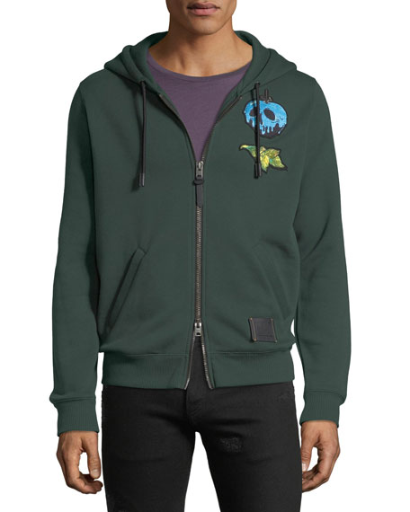 DISNEY X COACH Dark Fairy Tale Men's Snow White Sneezy Zip-Front Hoodie