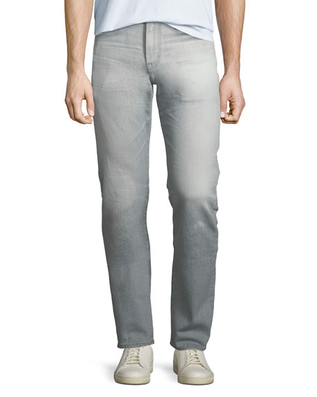 AG Adriano Goldschmied The Graduate Slim-Straight Jeans, 21