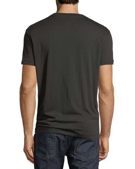 Men's Tonal Logo Applique T-Shirt