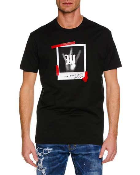 Dsquared2 Men's Westside/Eastside Hands Graphic T-Shirt