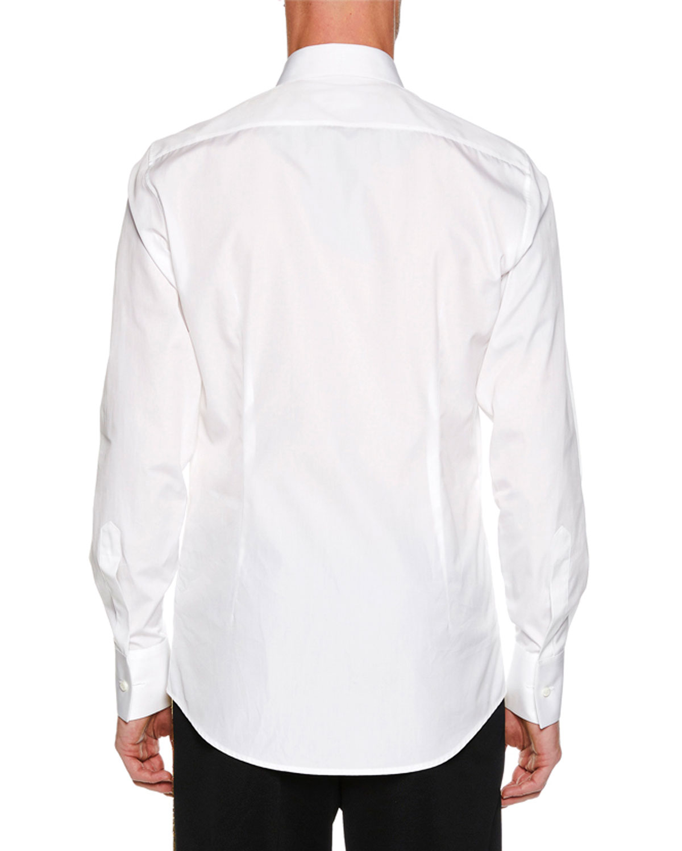 Dsquared2 Mens Metallic Trim Poplin Dress Shirt Neiman Marcus