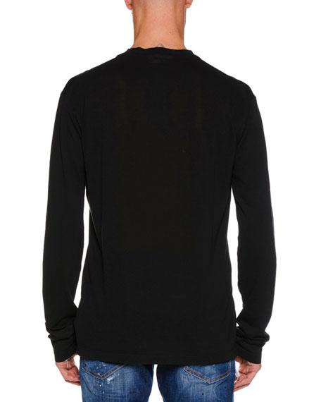 Men's Run Dan Logo Graphic Long-Sleeve T-Shirt
