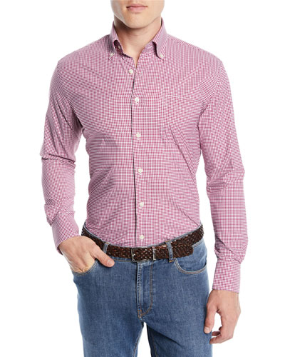 Men's Mimi Performance Check Sport Shirt