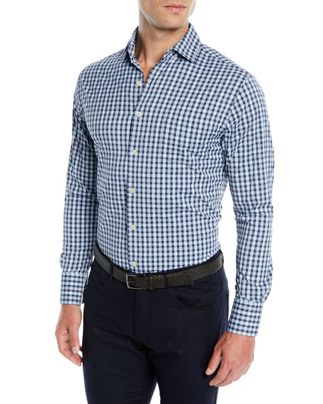Men's Fleming Performance Check Sport Shirt