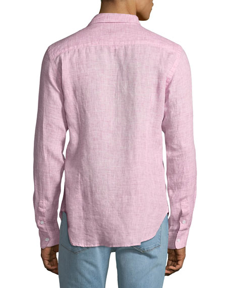 Men's Morton Tailored Sport Shirt, Pink