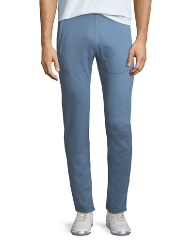 Crown Active Helsinki Stretch Jogger Pants, Blue