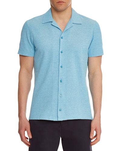 Men's Travis Pique Sport Shirt