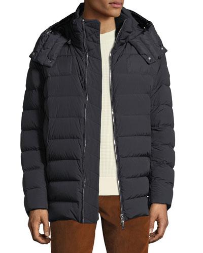 Men's Mathieu Hooded Puffer Jacket