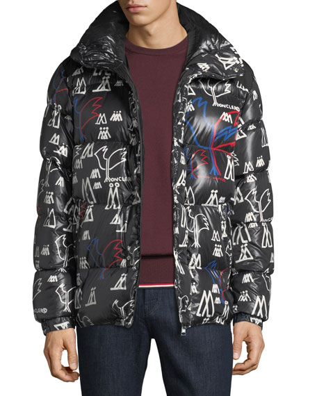 Men's Marennes Graphic Puffer Jacket