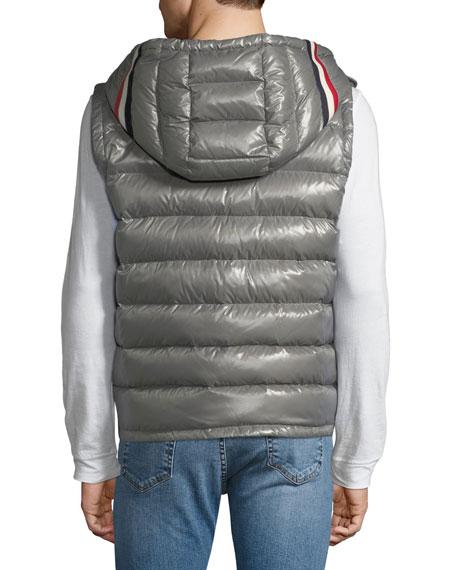Men's Lanoux Hooded Puffer Vest