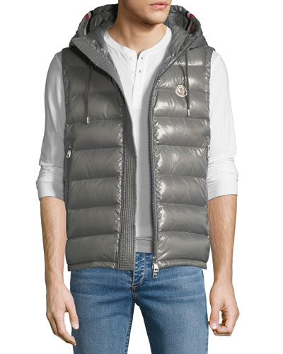 Men's Lanoux Hooded Puffer Vest