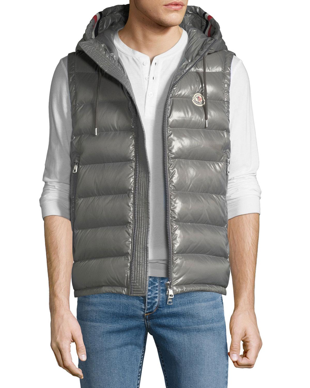 d8421c2ba Moncler Men s Lanoux Hooded Puffer Vest