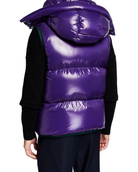 Men's Lorent Double-Hood Puffer Vest