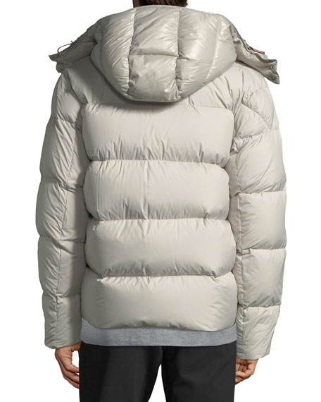 Men's Glacier Hooded Puffer Jacket