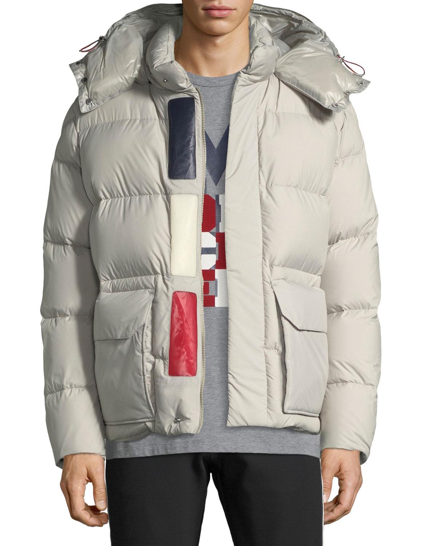 2c9e489946b1 Moncler Men s Glacier Hooded Puffer Jacket