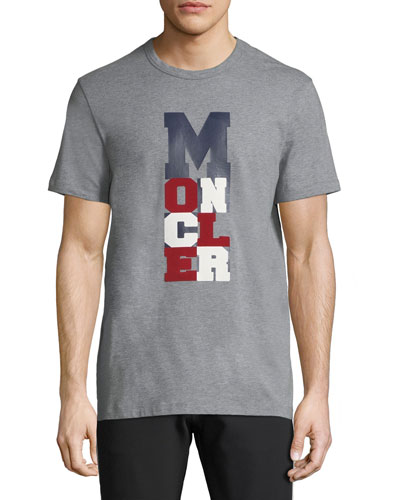 Moncler Men's Logo Typographic T-Shirt