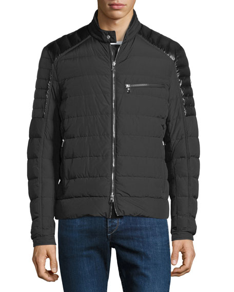 Men's Meylan Quilted Zip-Front Jacket