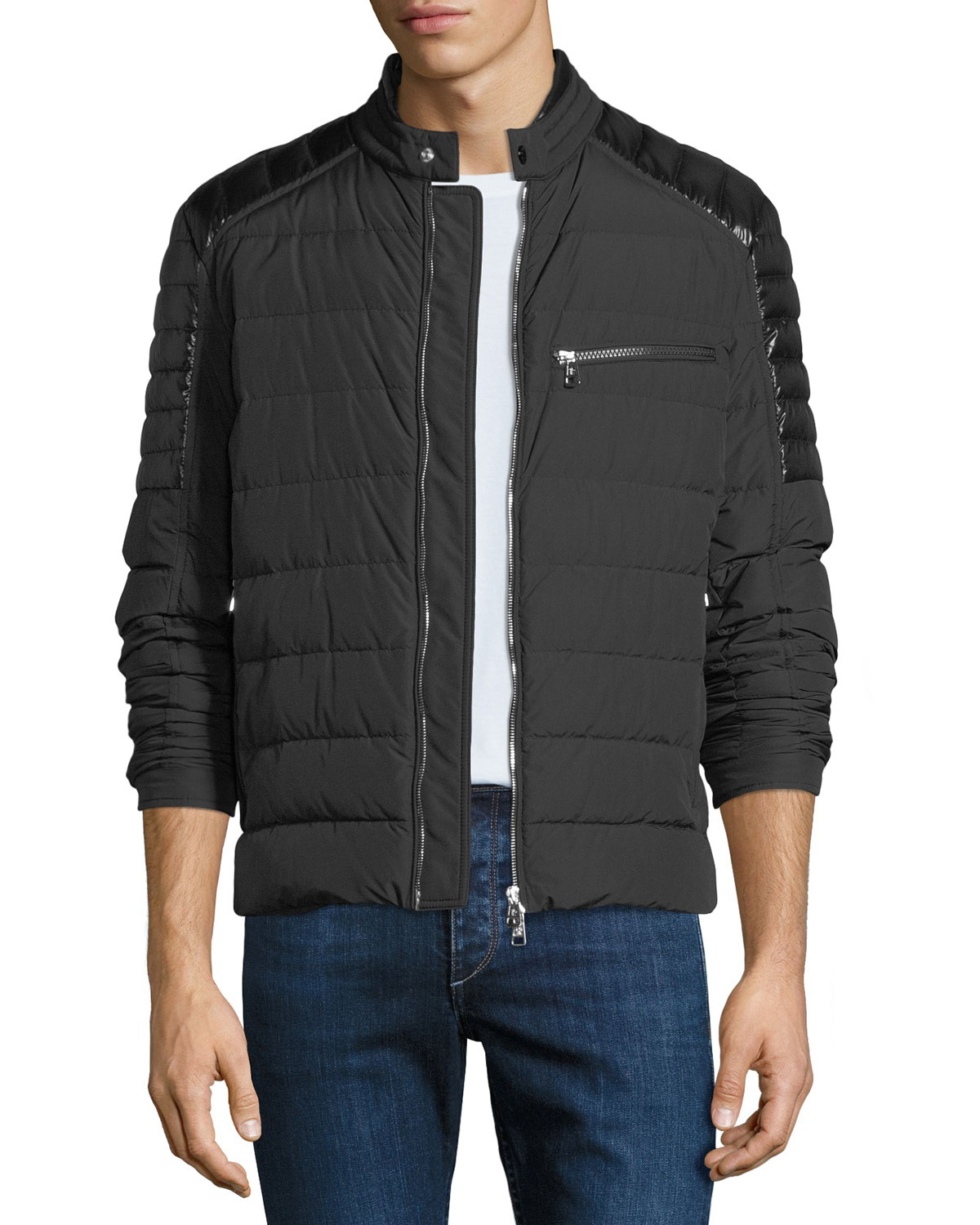 5386c3a6a Moncler Men s Meylan Quilted Zip-Front Jacket