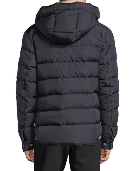 Men's Prevot Hooded Puffer Jacket with Pocket