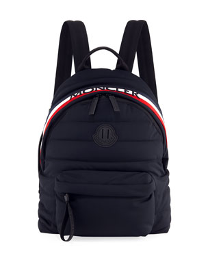 5217caa6772 Moncler Men s Dolomites Quilted Nylon Backpack