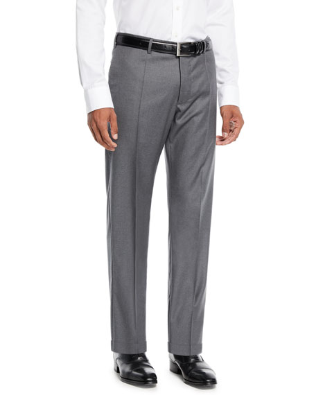 Incotex Benson 150s Wool Standard-Fit Trousers