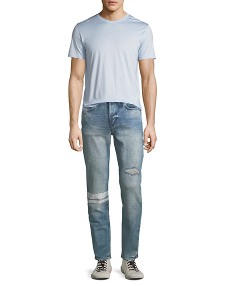 Men's Sartor Distressed Skinny Jeans
