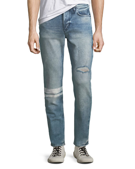 Hudson Men's Sartor Distressed Skinny Jeans
