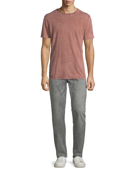 Men's Blake Slim-Straight Distressed Jeans, Deceiving