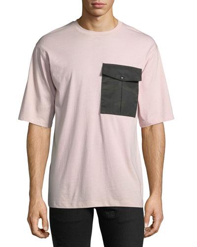 Men's Camo-Pocket T-Shirt