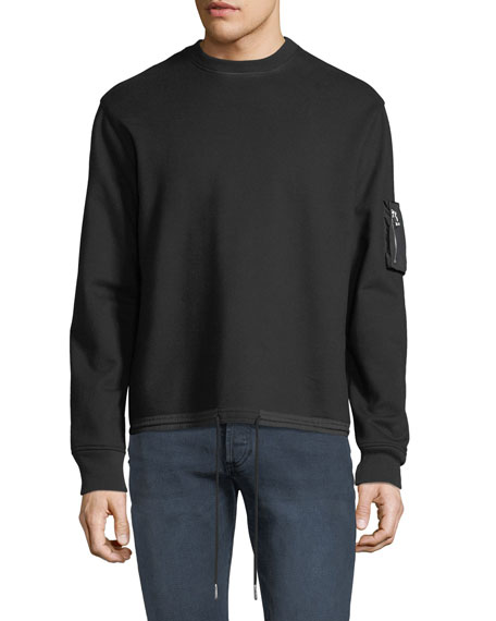 Helmut Lang Men's Fishtail Crewneck Sweatshirt