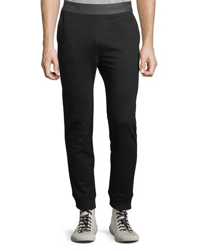 Men's Logo Elastic-Waist Sweatpants