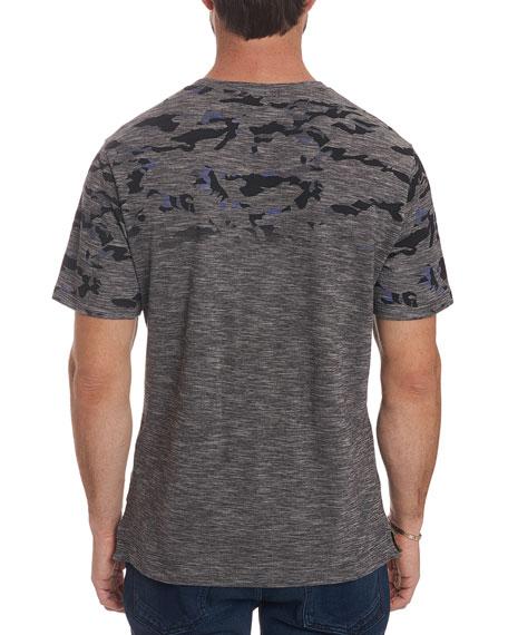 Men's Coral Sea Heathered Camo-Design T-Shirt